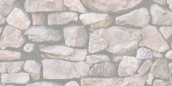 Washed Stone Wall